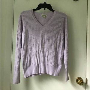 Vintage Cherokee Brand Cable Knit Sweater